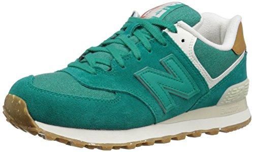 New Balance Wl574seb - Zapatillas Mujer Green (Galapagos)