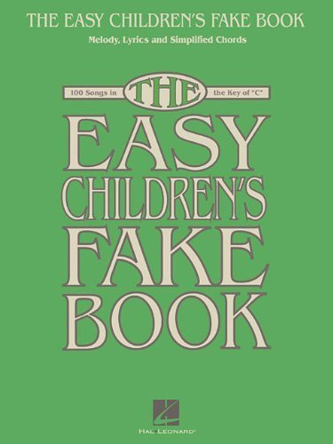 Fake Book - Melody Lyrics & Simplified Chords In The Key Of C (2012-04-01) ()