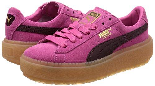 Sneakers Puma Rosa E Bordeaux Trace 8awadqv
