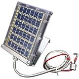 Boss Buck Drum Mount Solar Panel, Black, 12-volt