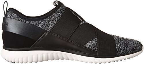 Cole Haan Studiogrand Knit Cross Strap Sneaker Black-white visa payment cheap online clearance official really for sale l72g0