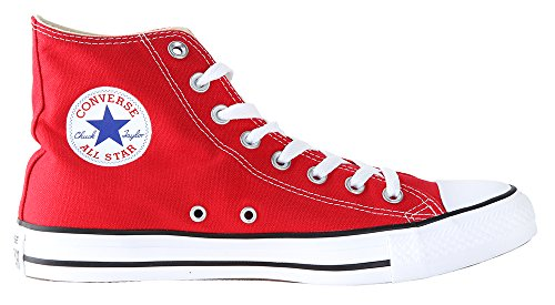 Converse Unisex Chuck Taylor All Star High Top (4.5 Men 6.5 Women, Red)