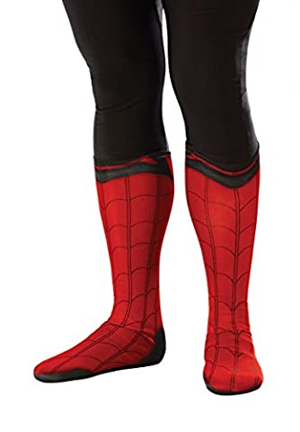 Rubie's Men's Spider-Man Adult Costume Accessories, Spider-Man: Homecoming, Boot Tops - Authentic Spider Man Costume Accessories