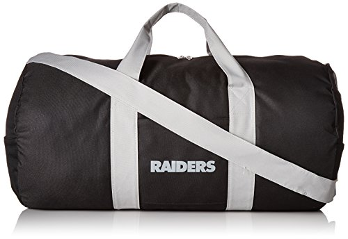Oakland Raiders Vessel Barrel Duffle -