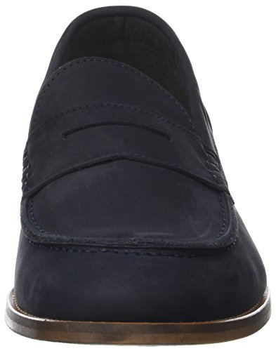 Bertie Men's Brockwell Loafers Blue (Navy) OVRhG5Kf