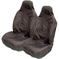 Par de fundas de asiento impermeables, para asientos