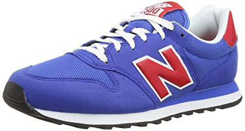 new balance gm 500 bleu rouge