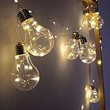 Cordão 10 Lampadas Luz De Fada Cor Amarela 3M