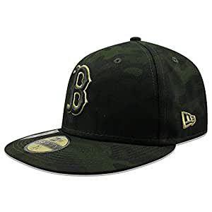 855f135d1 New Era Boston Red Sox 2019 MLB Armed Forces Day On-Field 59FIFTY Fitted  Hat - Camo