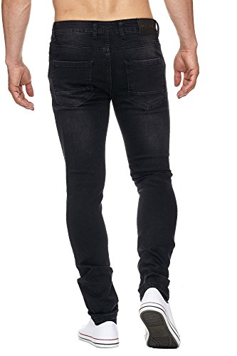 MADDU Herren Jeans Hose Denim Slim-Fit Cut 224