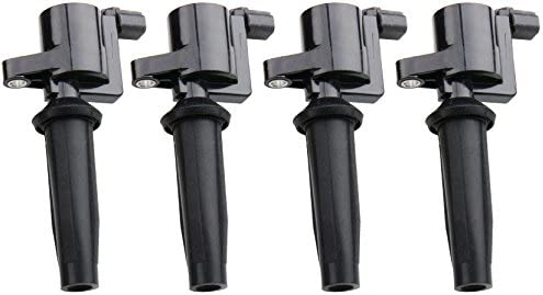 Mercury Mariner 2.0L 2.3L L4 Compatible With DG541 DG507 C1453 Mazda 3 DEAL Set of 1 New Ignition Coil For Ford Escape Focus Transit Connect