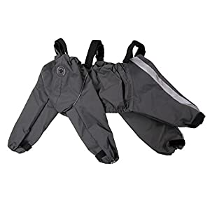 FouFou Dog 62561 Bodyguard Protective All-Weather Dog Pants, X-Large, Gray