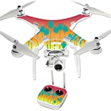 MightySkins Protective Vinyl Skin Decal for DJI Phantom 3 Professional Quadcopter Drone wrap cover sticker skins Sherbet Palms