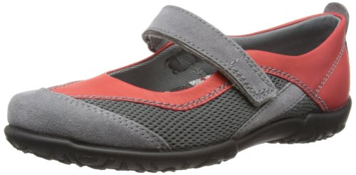 Rohde Mailand, Women's Closed Toe Ballet Flat Red