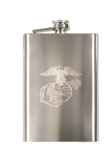 - Rothco Engraved Stainless Steel Flasks, Emblem : Marines