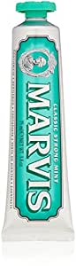Marvis Classic Strong Mint Toothpaste, 3.8 Ounces