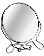 Premier Housewares Scheerspiegel met standaard chroom medium