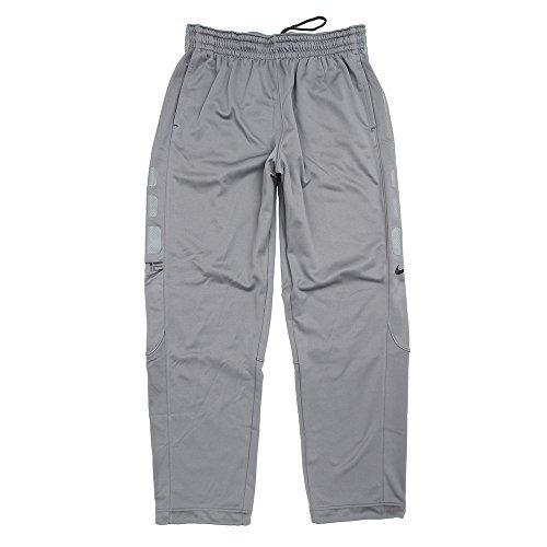 Nike Mens Therma Elite Open Hem Sweatpants Cool Grey/Anthracite 776109-065 Size Medium