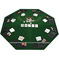 Masters Traditional Games Mesa de Poker otctagonal