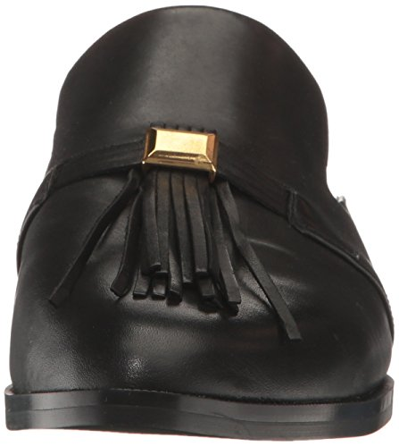 Frauen Loafers Black Leather