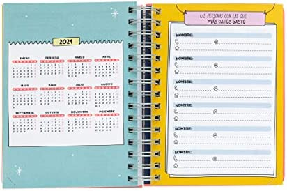 Amazon.com : ROTU 2019-2020 Day to a Page Diary : Office ...
