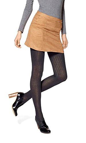 Hue Ribbed Tights (Hue Ribbed Sweater Tights (M/L, Black))