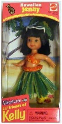 Barbie Kelly Doll Hawiian Jenny 1998 Lil Friends of Kelly