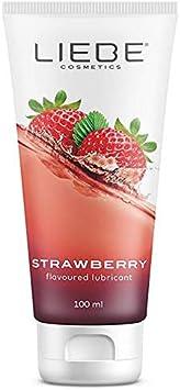 Liebe Lubricant Strawberry 100 Ml. 177 g: Amazon.es: Salud y ...