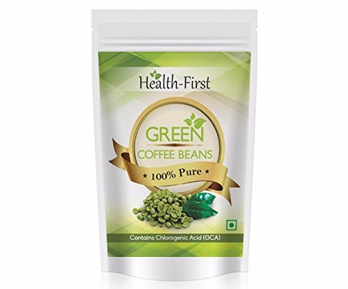 Health First Green Coffee Beans Decaffeinated Unroasted Arabica