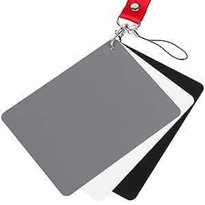 Amazon.com: chromlives fotografía tarjeta de Balance de ...