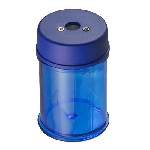 (Officemate Achieva Barrel Pencil Sharpener with Metal Cutter, Blue (30249))