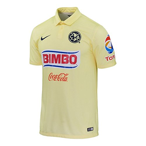 Nike Club America Home Stadium Soccer Jersey 2014 (Small)