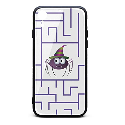 IiangY Cute Halloween Maze Thin Soft iPhonerx Case for iPhonexr Protective for Girls Men Women Cover for Women Girls -