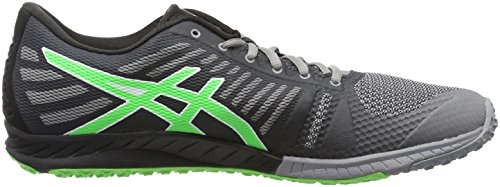 Asics Fuzex Tr, Zapatillas Deportivas para Interior para Hombre Gris (aluminum/green Gecko/black)