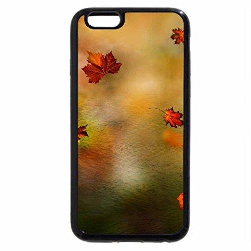 iPhone 6S Plus Case, iPhone 6 Plus Case, Leaf Shower