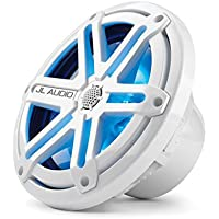 JL Audio MX770-CCX-SG-WLD-B 7.7 Marine Cockpit Coaxial System, White Sports Grilles w/ Blue LED