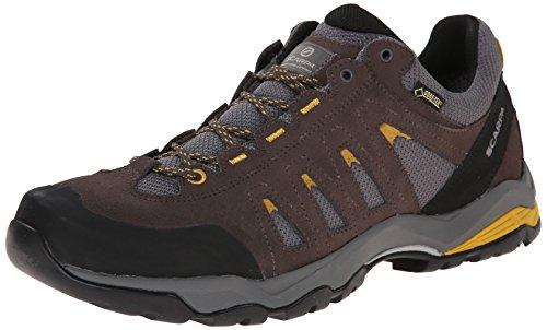 Price comparison product image SCARPA Men's Moraine GTX Hiking Shoe, Charcoal/Mustard, 40.5 EU/7 2/3 M US