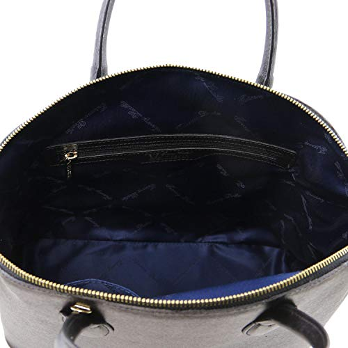 Saffiano Sac Tl Leather En 98141261 Keyluck Cuir Noir Cabas Tuscany fAT8qUB