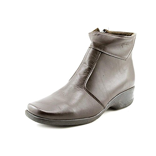 Toe Womens Chocolate Marsha Martino Ankle Leather Boots Fashion Closed daIAqTw
