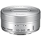 Nikon 1 NIKKOR VR 10-30mm f/3.5-5.6 PD-ZOOM Lens (Silver) (Certified Refurbished)