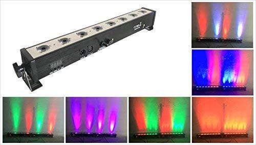 LED Par bar wall wash stage light,TOM 8pcsX3W