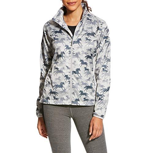 Ideal Weathered Jacket Windbreaker Slate Windproof Equine Women's Ariat gdxAq1ff