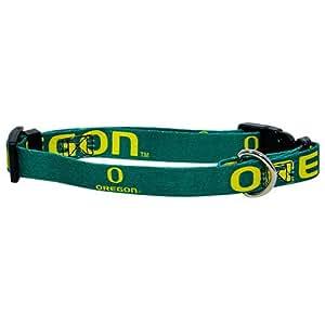 Hunter MFG University of Oregon Ducks Dog Collar, Medium