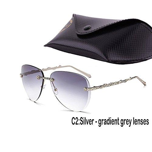 Gafas De Femenino Gafas 937C2 Mujer Lujo TIANLIANG04 De Anteojos De Sol Uv400 Gradiente De Sol Pizzo Multi wnRBxf1qx