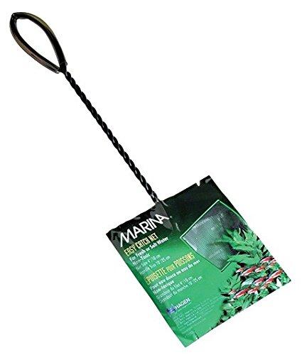 Marina 4-Inch Black Coarse Nylon with 10-Inch Handle