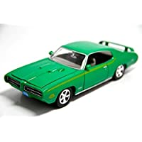 MotorMax 1969 Pontiac GTO Judge 1/24 Yeşil Model Araba