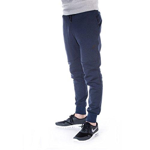 Nike Jogpant Techfleece Bleu Marine 545343473 Men Medium ()