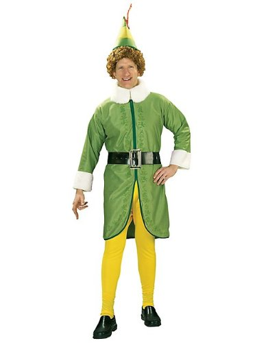Rubie's Mens Buddy The Elf Halloween Party Character