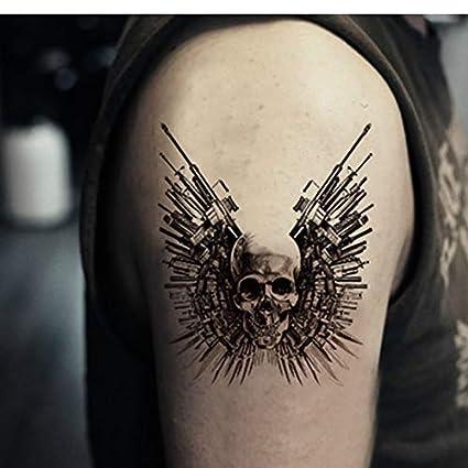 yyyDL Etiqueta engomada del tatuaje Tatuaje temporal a prueba de ...