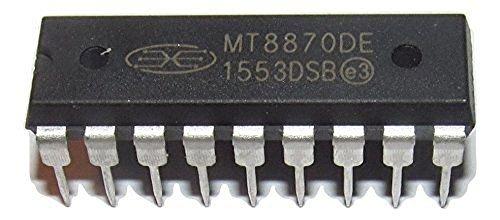 Mitel MT8870DE Integrated DTMF Reveiver (Pack of 10) (Dtmf Receiver)
